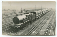 Railway Postcard (RP) LNWR Claughton class between Euston and Watford