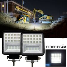 2pcs LED Head Lamp for Caterpillar Skid Steers Excavator Forklift Light Loader