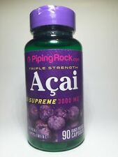 Supreme Triple Strength Acai 3000 mg | 90 Capsules - Antioxidants