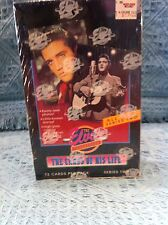 "NOS ELVIS COLLECTION"" CARDS OF HIS LIFE SERIES #2 (12 CARDS PER PACK)"