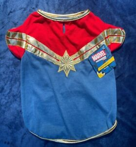 NEW DOG COSTUME Avengers Captain Marvel WONDER WOMAN t-shirt LARGE Petco Outfit
