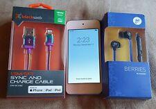 Apple iPod MKHV2BT/A touch 6th Generation BLUE (32GB) Serial No: CCQT244EGGNJ