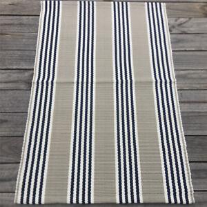 Waterproof Outdoor Polypropylene Small Mat/Rug - Durban Stripe @ $80/each