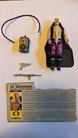 Vintage 1986 Hasbro GI Joe DR MINDBENDER Action Figure COMPLETE w/ Filecard ARAH