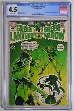Green Lantern #76 CGC 4.5 OW NEAL ADAMS GREEN ARROW Begins! KEY BRONZE BOOK!