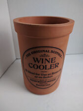"HENRY WATSON POTTERY WINE COOLER THE ORIGINAL SUFFOLK 7"" TERRACOTTA"