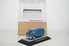 PREMIUM CLASSIXXS 11260 VW VOLKSWAGEN T2 KASTENWAGEN VAN NEPTUNE BLUE MINT BOXED