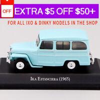 1/43 IXO IKA ESTANCIERA 1965 Blue Die Cast Car Model Rare Collection