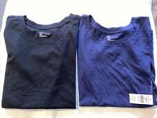 Gap Ladies tshirt top Size XXS Black & Navy x2