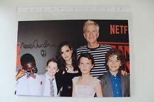 AUTOGRAFO Matthew Modine Stranger Things TV ORIGINALE autograph signed photo Top