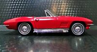 1 1967 Corvette Chevrolet 18 Sport Race Car 25 Vintage 12 Carousel Red 24 1963