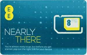 EE Pay As You Go SIM Card For Doro Mobile Phones and others.
