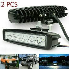 "2x 6"" LED barra de luz trabajo Spot Flood Combo FOCO Light Bar camión 12V 6500K"