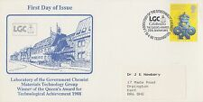 1990 GB Queen's Award Laboratory of the Government Chemist LGC first day card