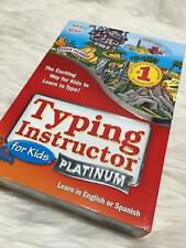 Typing instructor for kids platinum english or spanish b41