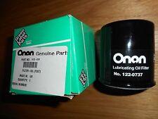 Onan Generator Oil Filter #0122-0737  - Genuine Onan RV Generator Filter (OEM)
