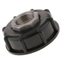 "IBC Tote Water Tank Adapter Cap 60mm Coarse Thread to 3/4"" Internal Thread"