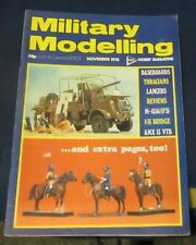 MILITARY MODELLING NOVEMBER 1976 - BASEBOARDS/THRACIANS/LANCERS/AMX 13 VTB