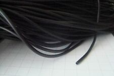 **Synthetic Rubber Tube for Crafting Black   3mm Dia x 2 Metre with 1.5mm bore