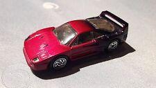 Matchbox Ferrari F40 pink-lila in gelber US OVP Made in Thailand 1988