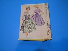 McCall's Sewing Pattern #5775 Misses Dress & Bolero Size 12 Uncut Vintage 1960's