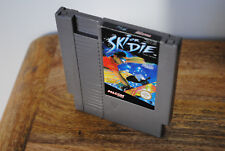 Jeu SKI OR DIE pour Nintendo NES (pal)