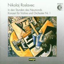 Roslavec: In den Stunden des Neumonds / Konzert fur Violine und Orchester Nr. 1,