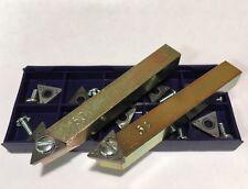 Positive Rake Bit Holder Set Amp Bits For Fmc 601 Brake Lathe New
