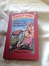THE BOBBSEY TWINS' ADVENTURE IN THE COUNTRY #2 by LAURA LEE HOPE 2004 HC reissu