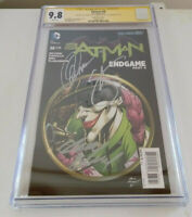Batman #38 Variant - CGC SS 9.8 - 3x Sigs Capullo, Kubert, Scott Snyder