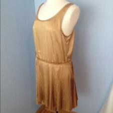 Polyester/Spandex Short Dresses for Women with Pleated