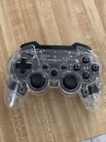 Clear afterglow ps3 controller wireless *no usb dongle