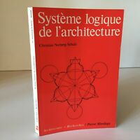 Christian Norberg-Schulz Sistema Lógica Arquitectura Piedra Mardaga
