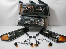 Headlights & Turn Signals / Park lights w Bulbs  04-12 Chevy COLORADO GMC CANYON