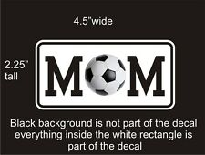 Soccer Mom car vinyl decal great stocking stuffer bumper sticker NEW