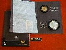 2015 P REVERSE PROOF LYNDON JOHNSON DOLLAR & SILVER MEDAL COIN & CHRONICLES SET