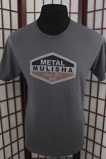 Metal Mullisha T Shirt Sz Large Gray Logo 100 Proof Collection Special Edition