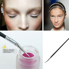 Gel Angled Eyeliner Brush Thin Eye Brush Powder Eyeshadow Lip Liner Brush Tool