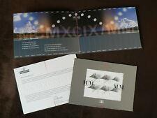 1999 2000 Millennium Moment CTO Miniature Sheet in Commemorative Folder