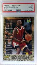 1996 96 Upper Deck Ball Park Franks Gold Michael Jordan #5, PSA 9, Pop 2 only 3^