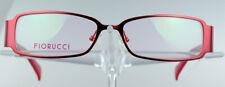 FIORUCCI FO 3013 Brillengestell Rot Damen Vollrand Eyeglasses Händler NEU
