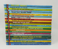 Lot of 25 Vintage Disney's Wonderful World of Reading Books