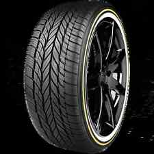 (1) VOGUE TYRE TIRE 245-40R20 WHITE & GOLD IN STOCK READY TO SHIP DON'T MISS OUT