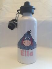 Eeyore Personalised Metal Sport Water Drink Bottle Gym School Nursery Children
