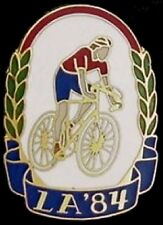 Cycling Olympic Pin Badge~1984 Los Angeles~LE 2,000 by Gift Creations~cloisonne
