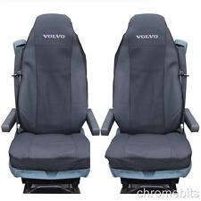 2/PAIR PREMIUM FABRIC TAILORED SEAT COVERS VOLVO TRUCKS FH12 FH 16 FL FM FH16