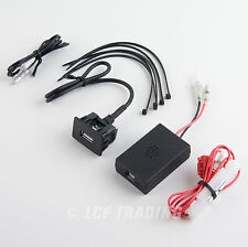 USB Smart Charging Kit for Toyota Vehicles Auxilary Switch #2870 Amon of Japan