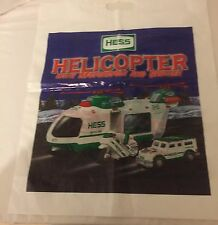 Hess Gas Truck Bag for Helicopter w/ Motorcycle and Cruiser