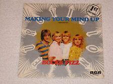 "BUCKS FIZZ EUROVISION 1981 GRANDE BRETAGNE MAKING YOUR MIND UP ESPAGNOL 7"""