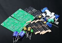 One pair PASS ACA 5W Single-ended Class A FET + MOS Power amplifier kit DIY AMP